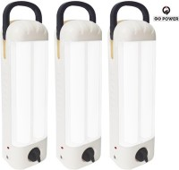 View GO Power 44 LED (Set of 3) with Charger Rechargeable Emergency Lights(White) Home Appliances Price Online(GO Power)