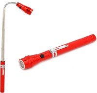 View Blazon Telescopic expandable Light with twist magnetic head Flashlight Torches(Red) Home Appliances Price Online(Blazon)
