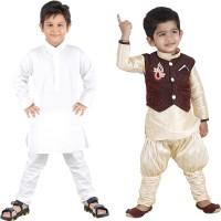 FTC Bazar Boys Kurta, Waistcoat and Pyjama Set