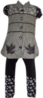 Kid n Kids Girls Kurti and Legging Set