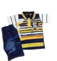 Kid n Kids Boys Blazer, Shirt and Trouser Set