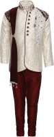 AJ Dezines Boys Sherwani and Churidar Set