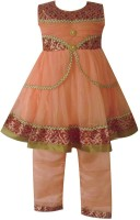 Fashionitz Girls Kurta and Pyjama Set