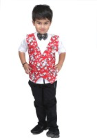 Bad Boys Boys Shirt, Waistcoat and Pant Set