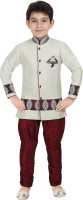 Kute Kids Boys Kurta and Breeches Set