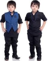 Bad Boys Boys Kurta & Waistcoat Set