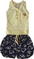 MKB Girls Top and Skirt Set