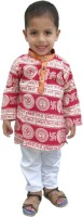 RTD Boys Kurta and Pyjama Set