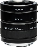 Kenko DG 12mm, 20mm, 36mm for Canon Adjustable Macro Extension Tube(Pack of 1)