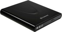 View Transcend Slim Portable CD/DVD Writer (Black)(Black) Laptop Accessories Price Online(Transcend)