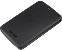 Toshiba 2 TB Wired External Hard Disk Drive with  500 GB  Cloud Storage(Black)