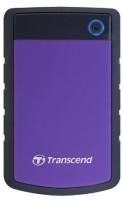 Transcend StoreJet 25H3P 2.5 inch 1 TB External Hard Disk(Purple)