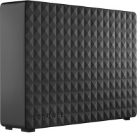 Seagate 4 TB Wired External Hard Disk Drive(Black, External Power Required)