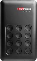 Portronics 500 GB Wired External Hard Disk Drive(Black)