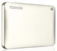 Toshiba 1 TB External Hard Disk Drive(White)