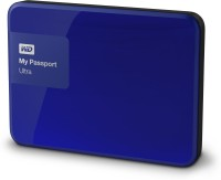 WD My Passport Ultra 1 TB Wired External Hard Disk Drive(Blue)
