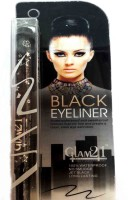Glam 21 Water Proof Black Eyeliner 1 2 g(Black) - Price 107 64 % Off