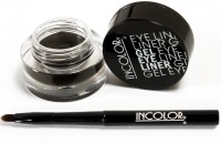 Incolor Waterproof Gel Eye Liner 5 g(Jet Black)