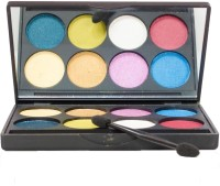 Coloressence Pearl Finish Eye Shades Pallete II 28 g(Multicolor)
