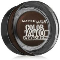 Maybelline Eye Studio Color Tattoo Leather 24 HR Cream Gel Eyeshadow, Chocolate Suede 1 g(Chocolate Suede)