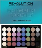 Makeup Revolution MUR Ultra 32 Eyeshadow Palette 20 g(Mermaids Forever)