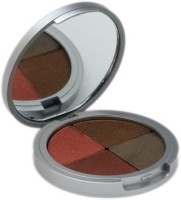 The Organic Face All Natural Quad shadows Mesa M-103 3 g(Dark)
