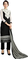 Khushali Chanderi Self Design, Embroidered Salwar Suit Dupatta Material(Un-stitched)