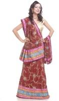 Chhabra 555 Georgette Printed Lehenga Choli Material(Un-stitched)