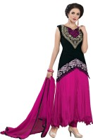 Khushali Net Self Design, Embroidered Salwar Suit Dupatta Material(Un-stitched)