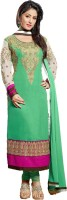Indian Wear Online Georgette Self Design Semi-stitched Salwar Suit Dupatta Material