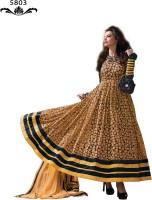 BanoRani Brasso Embroidered Salwar Suit Dupatta Material(Un-stitched)