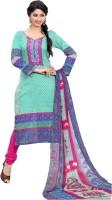 Araja Cotton Printed Salwar Suit Dupatta Material(Un-stitched)