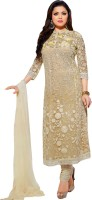 Taaz Cotton Embroidered Salwar Suit Dupatta Material(Un-stitched)