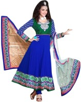 Triveni Georgette Self Design Dress/Top Material(Un-stitched)
