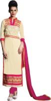 Sonal Trendz Georgette Self Design Semi-stitched Salwar Suit Dupatta Material
