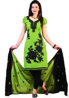 Minu Suits Cotton Self Design Salwar Suit Dupatta Material(Un-stitched)