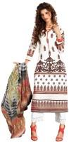 We Desi Georgette Self Design Salwar Suit Dupatta Material(Un-stitched)