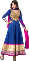 Varanga Cotton Printed Salwar Suit Dupatta Material(Un-stitched)