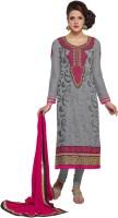 Kanheyas Georgette Embroidered Salwar Suit Dupatta Material(Un-stitched)