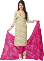 Vaamsi Polycotton Printed Salwar Suit Material(Unstitched)