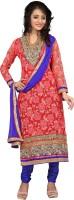 Kanheyas Net Embroidered Salwar Suit Dupatta Material(Un-stitched)