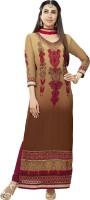 Jiya Georgette Self Design, Embroidered Salwar Suit Dupatta Material(Un-stitched)