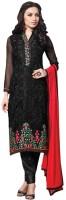 Trendz Apparels Georgette Embroidered Salwar Suit Dupatta Material(Un-stitched)