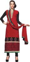Kanheyas Georgette Semi-stitched Salwar Suit Dupatta Material