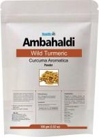 HealthVit Ambahaldi /Wild Turmeric (Curcuma Aromatica) Powder 100gms(100 g) - Price 65 35 % Off