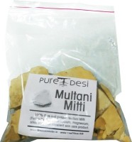 PureDesi 100% Genuine Multani Mitti (Fullers Earth Clay In Pieces Form)(330 g)