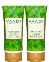 Vaadi Herbals Anti-acne Neem Face Pack with Clove & Turmeric - Pack of 2(240 g)