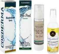 Cosderma glycolic peel home use kit(350 ml)