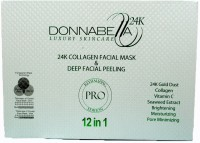 Donna Bella 24k Collagen facial mask and peeling(60 g) - Price 9999 84 % Off