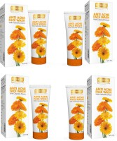 Richfeel Anti Acne with Calendula Extracts (Pack Of 4) Face Wash(400 g)